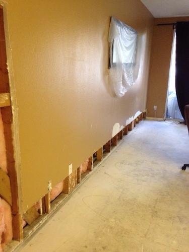 Residential Interior drywall repair